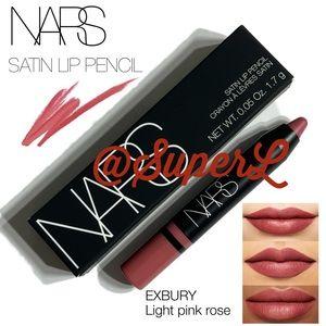 2/$25 NARS Satin Lip Pencil Lipstick Exbury Pink